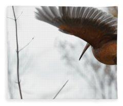 Flight Feathers Fleece Blanket