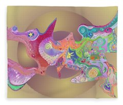 Flight Of Evolution V2 Fleece Blanket