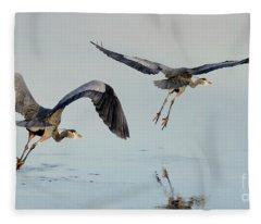 Flight Of Fancy Fleece Blanket