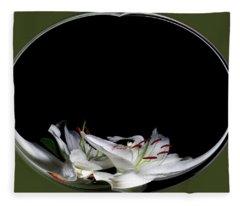 Floating Lily Fleece Blanket