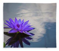 Floating On A Cloud Fleece Blanket