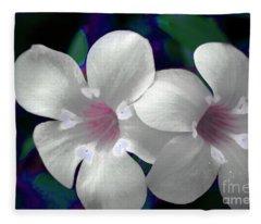 Floral Photo A030119 Fleece Blanket
