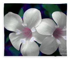 Floral Photo A030119 Fleece Blanket