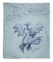 Flying Lessons Fleece Blanket