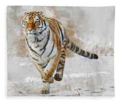 Focus Fleece Blanket