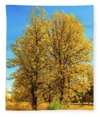 Foliage Fleece Blanket