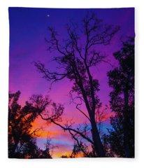 Forest Colors Fleece Blanket