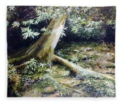 Forest Edge Fleece Blanket