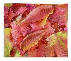 Forest Floor 2 Fleece Blanket