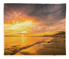 Fort Foster Sunset Watchers Club Fleece Blanket