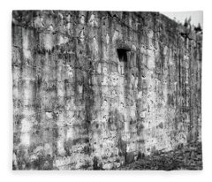 Fleece Blanket featuring the photograph Fortification by Steve Stanger