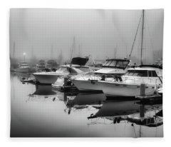 Foss Fog Fleece Blanket