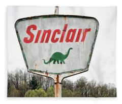 Fossil Fuel Fleece Blanket