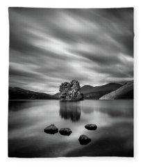 Four Rocks Fleece Blanket