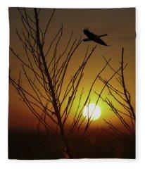 Fowl Morning Fleece Blanket