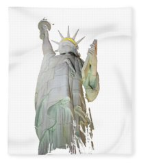 Fractured Liberty Fleece Blanket