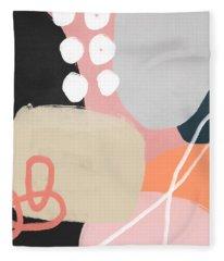 Fragments 1- Art By Linda Woods Fleece Blanket