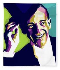 Fred Astaire Fleece Blanket