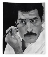 Freddie Mercury Fleece Blanket