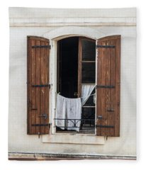 French Laundry Fleece Blanket