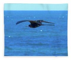 Frigatebird Fleece Blanket