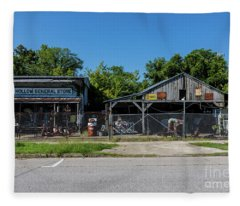 Frog Hollow General Store - Augusta Ga Fleece Blanket