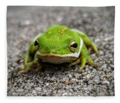 Frogger Fleece Blanket