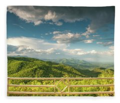 From The Porch Fleece Blanket