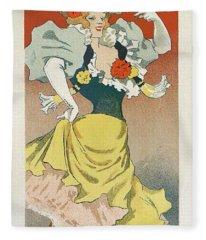 Frosards Cavour Cigars, 1895 French Vintage Poster Fleece Blanket