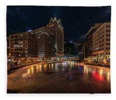 Frozen City Fleece Blanket