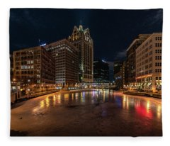 Frozen City Fleece Blanket