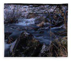 Frozen River II Fleece Blanket
