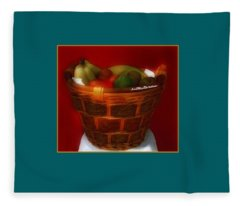 Fruit  Art 33 Fleece Blanket
