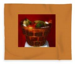 Fruit  Art 34 Fleece Blanket