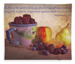 Fruit Of The Spirit Fleece Blanket