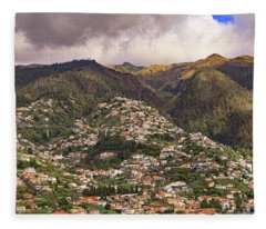 Funchal Madeira Fleece Blanket