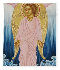 Gabriel, Angel Of Water Fleece Blanket