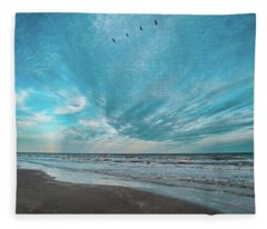 Galveston Island First Light Fleece Blanket