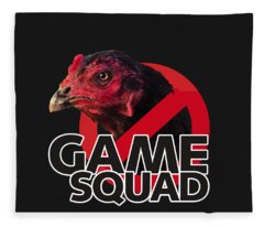 Game Squad Fleece Blanket