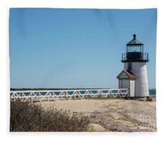 Gangway To Light House Fleece Blanket