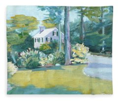 Gardens And Neighbors Fleece Blanket