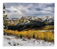 Gathering Storm Fleece Blanket