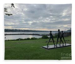 Gene Colon Memorial Beach Park Fleece Blanket