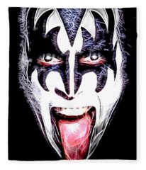 Gene Simmons Fleece Blanket