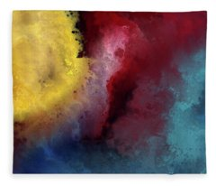 Genesis 1 3. Let There Be Light Fleece Blanket