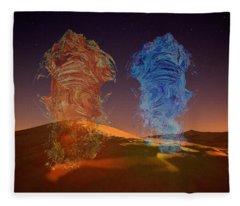 Genies Dance Fleece Blanket