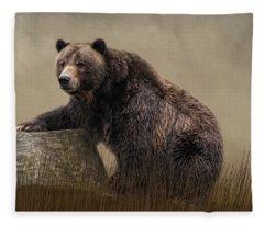 Gentle Ben Fleece Blanket