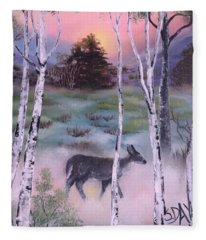 Gentle Mist Fleece Blanket