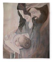 Gentle Savior Fleece Blanket