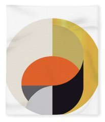 Geometric Painting 12 Fleece Blanket